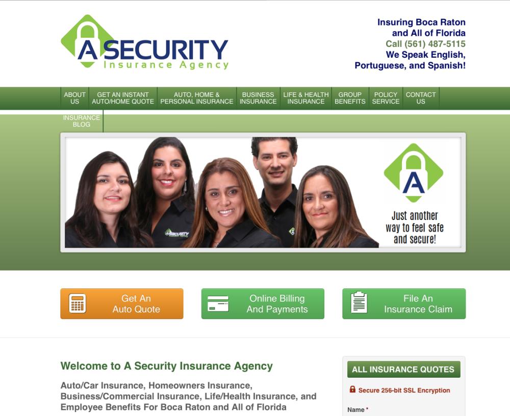A Security Website