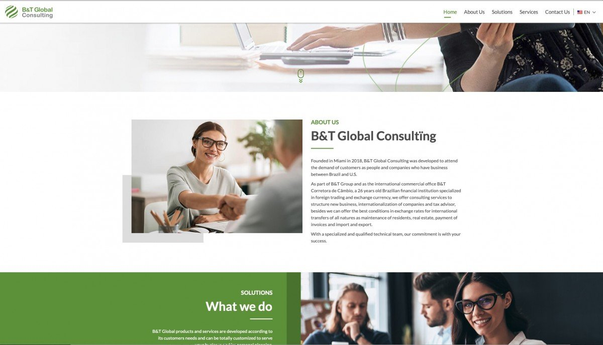 Btglobal Consulting Site Screenshot