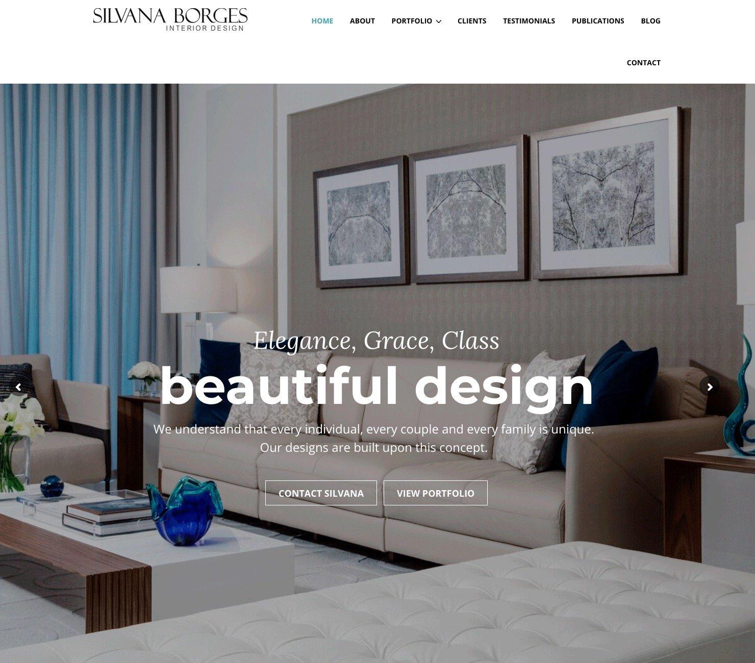 Silvana Borges Website