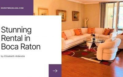 Stunning Rental in Boca Raton