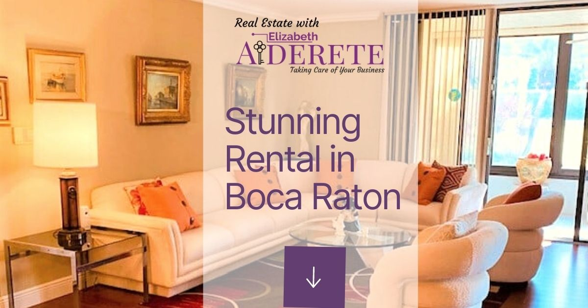 Stunning Rental In Boca Raton Ad