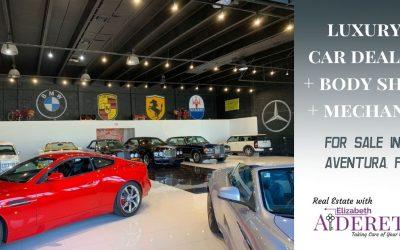 Luxury Car Dealer + Body Shop + Mechanic for Sale in Aventura, FL