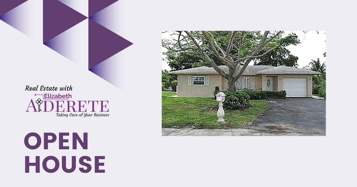 Open House in Tamarac