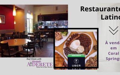 Restaurante Latino a Venda em Coral Springs – FL
